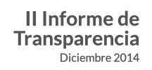Informe de transparencia