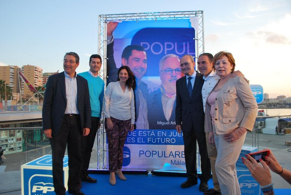 Acto inicio campaña PP Málaga 8 mayo