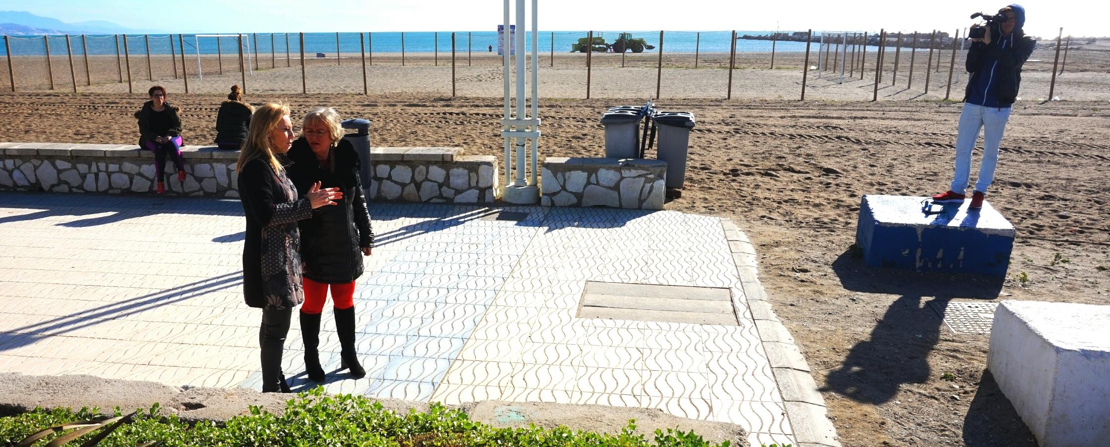 pelo largo euro paseo en Málaga